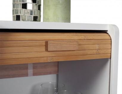 Kommode Larvik, Rollladen- Schubladenschrank, Retro-Design 71x30x30cm 1 Schublade - Vorschau 3