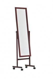 Standspiegel CP350, Ankleidespiegel Spiegel, Holz ~ kirschfarben