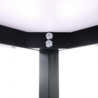 Schreibtisch Braila, Konferenztisch Bürotisch Seminartisch, 120x80cm MDF ~ weiß - Vorschau 4
