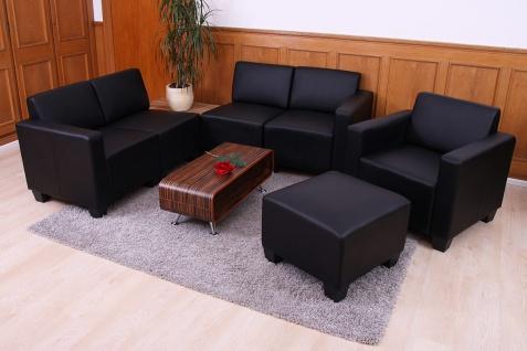 Modular Sofa-System Garnitur Lyon 3-1-1-1 schwarz - Vorschau 3
