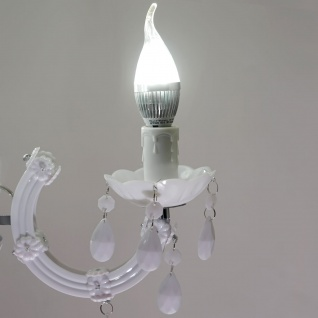 LED-Kronleuchter HW154, Hängeleuchte, 27W EEK A++ - Vorschau 5