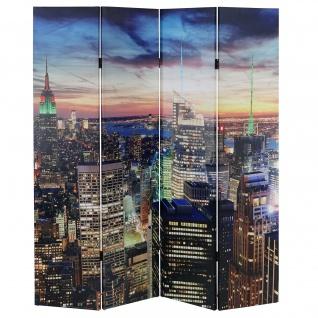 LED-Paravent New York, Timer, netzbetrieben 180x160cm 28 LEDs