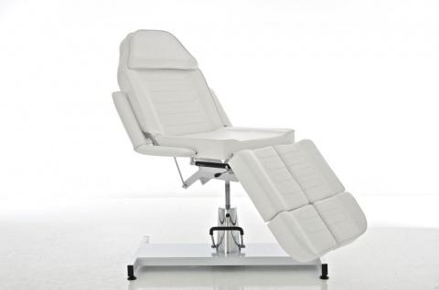 Kosmetikliege CP381, Massagebank Massagetisch ~ weiß