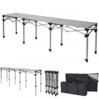 Multifunktionstisch HWC-A23, Tisch Klapptisch Bartisch Werktisch Falttisch, höhenverstellbar ~ 270cm