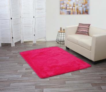 Teppich HWC-F69, Shaggy Läufer Hochflor Langflor, Stoff/Textil flauschig weich 160x120cm - Vorschau 2