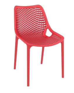 Gartenstuhl CP336, Bistrostuhl Stuhl ~ rot