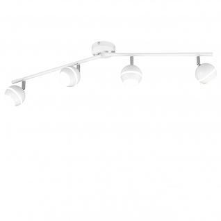 Trio LED Deckenleuchte RL183, Deckenlampe, inkl. Leuchtmittel 4 flammig 15, 2W
