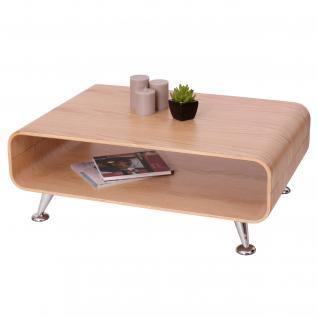 Couchtisch HWC-B97 XXL, Tisch Loungetisch Club Tisch, 33x90x60cm Eiche natur