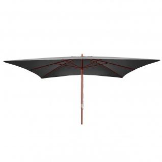 Sonnenschirm Florida, Gartenschirm Marktschirm, 3x4m Polyester/Holz 6kg - Vorschau 3