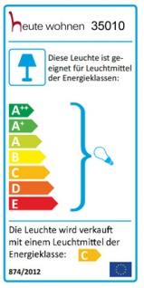 Deckenleuchte HW173, Pendelleuchte Hängeleuchte Deckenlampe, 1-flammig EEK C - Vorschau 2