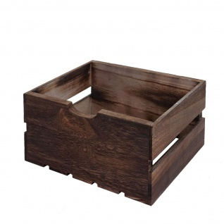 Kommode HWC-C62, Schubladenkommode Holzkiste, Shabby-Look Vintage 3 Schubladen 53x32x26cm ~ braun - Vorschau 5