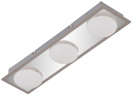 Briloner LED Deckenleuchte RL191, Deckenlampe Badlampe, inkl. Leuchtmittel EEK A+ 13, 5W 3-flammig - Vorschau 4