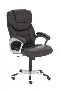 Bürostuhl CP227, Bürosessel Drehstuhl ~ braun