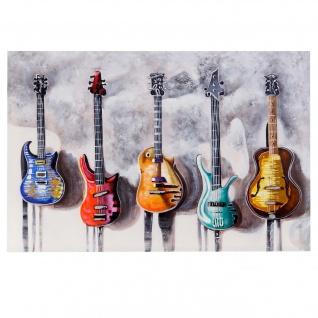 Ölgemälde Gitarrne, 100% handgemalt, 120x80cm