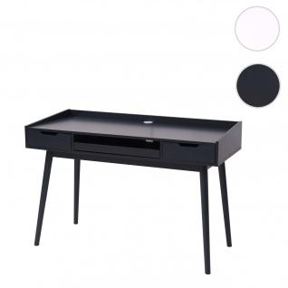 Schreibtisch HWC-A70b, Bürotisch Computertisch, MDF 120x55cm ~ dunkelgrau