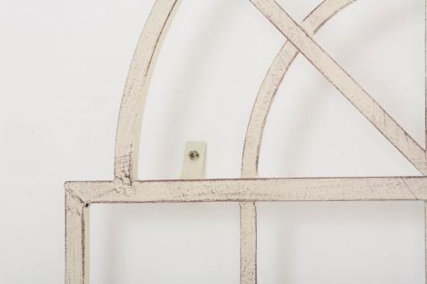 Wandrankhilfe CP371, Rankhilfe Rankgitter, Eisen ~ 180cm, antik-creme - Vorschau 3