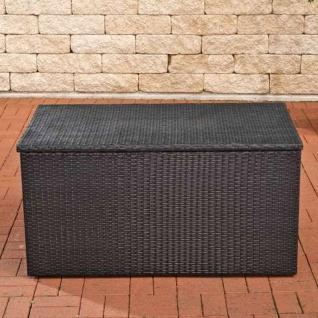 Auflagenbox, Kissenbox, Gartentruhe schwarz