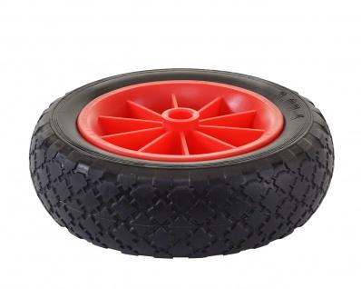 Ersatzrad für Bollerwagen, Reifen Sackkarrenrad, PU Rad 260x80 mm - Vorschau 3