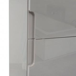 Hängeschrank HWC-B19, Midischrank Hochschrank Badezimmer Badmöbel, hochglanz 150x30cm - Vorschau 3