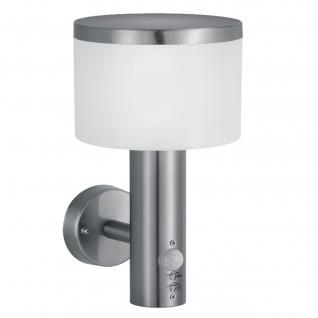 Reality|Trio LED-Wandleuchte RL127, Wandlampe Außenleuchte ~ 11, 5W mit Bewegungsmelder