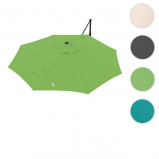 Bezug für Ampelschirm HWC-A39, Sonnenschirmbezug Ersatzbezug, Ø 3, 5m Polyester 250g/m² ~ grün