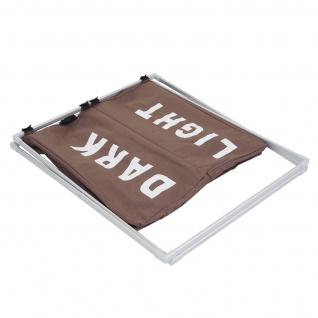 Wäschesammler HWC-C36, Laundry Wäschesortierer Wäschekorb, 2 Fächer klappbar 58x59x37cm 127l - Vorschau 5