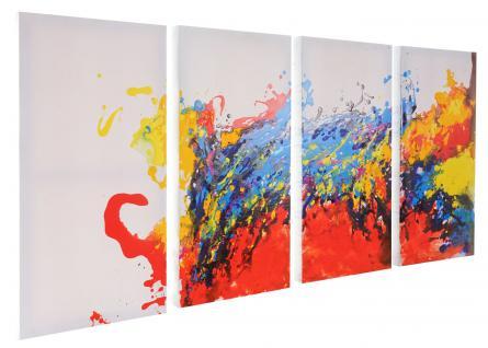 Ölgemälde Wave, 100% handgemaltes Wandbild XL, 120x60cm - Vorschau 3