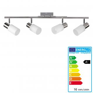 LED Deckenspot A140, Deckenleuchte Deckenlampe Deckenstrahler, 4W-LED, EEK A+, nickel matt