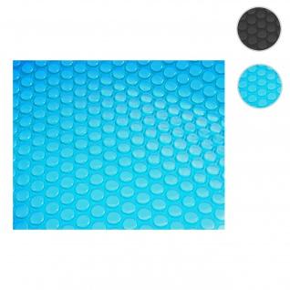 Pool-Abdeckung Wärmeplane Abdeckplane Solarplane Solarabdeckung, Stärke: 200 µm ~ rechteckig 10x5m blau