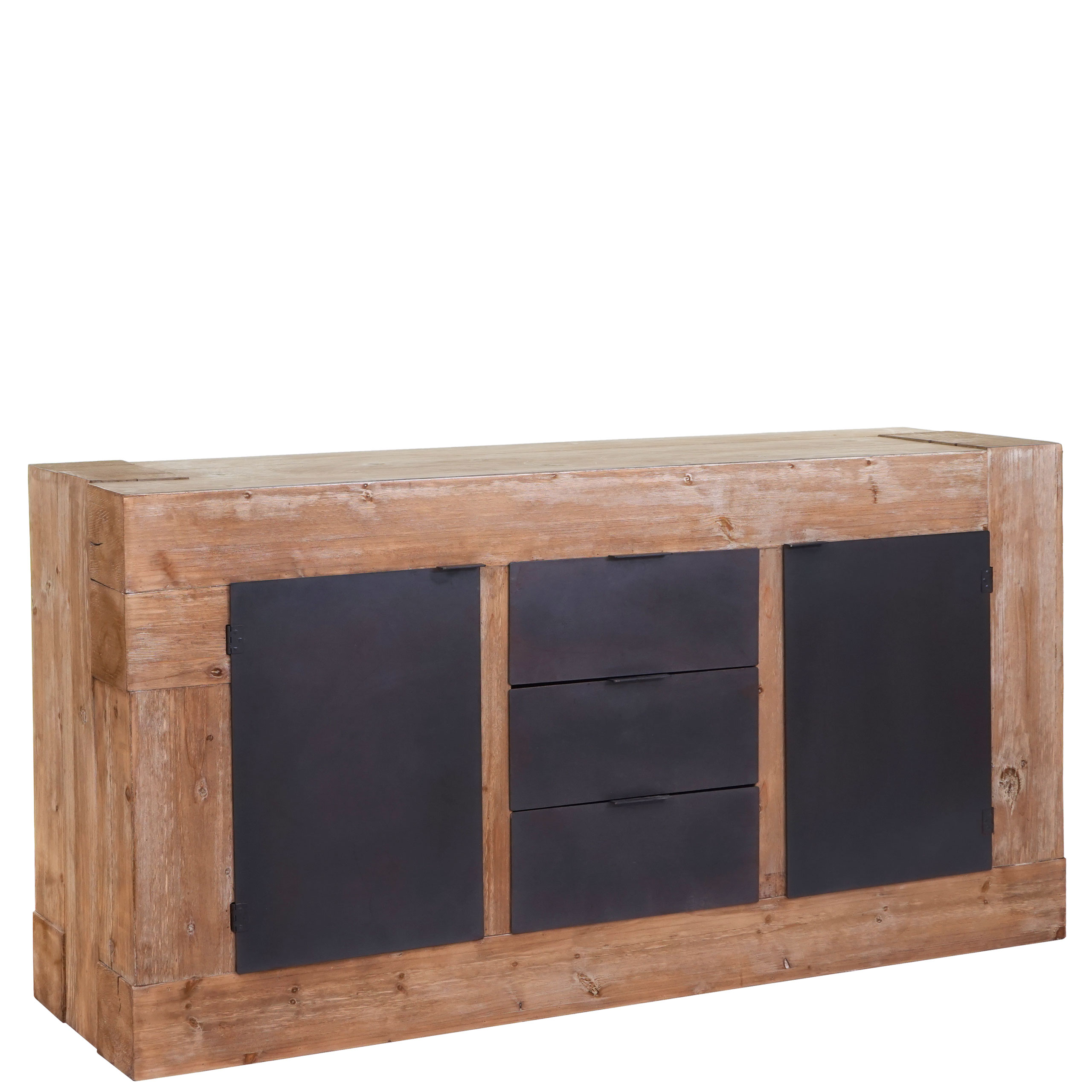 Sideboard Hwc A15 Kommode Schrank Anrichte Tanne Holz Rustikal