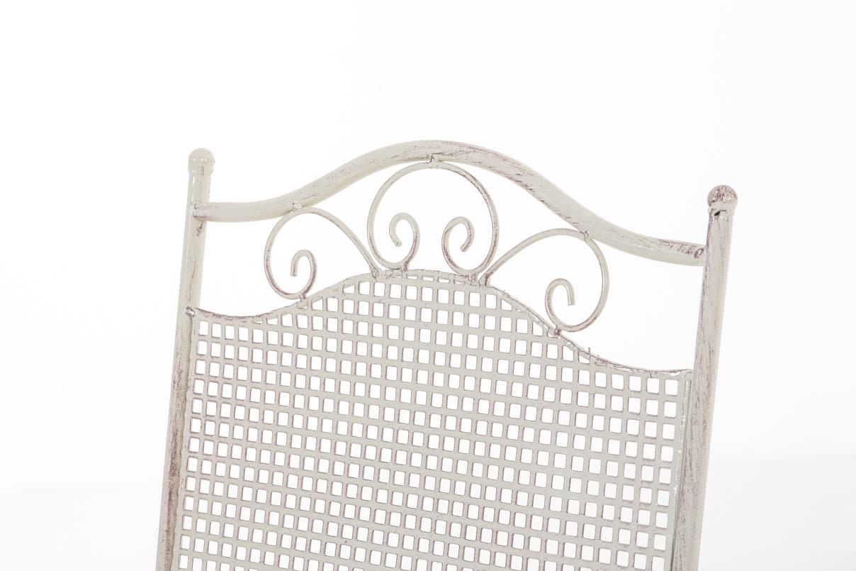 Gartenstuhl CP335, Klappstuhl Bistrostuhl Bistrostuhl Bistrostuhl Stuhl, Metall e9d31f