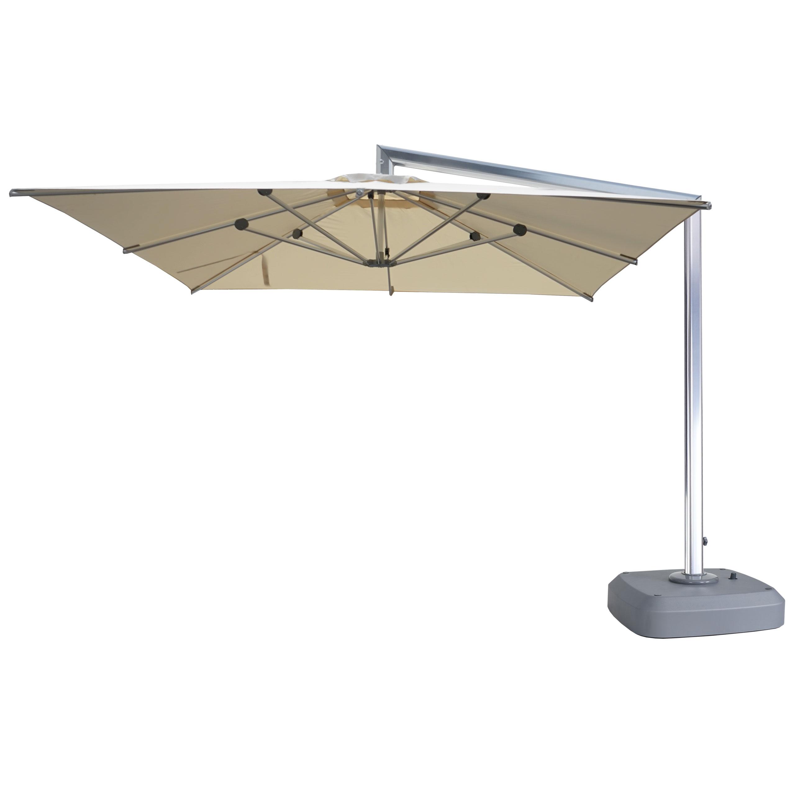 Relativ Luxus-Ampelschirm HWC-A36, Gartenschirm Sonnenschirm mit Ständer QK12