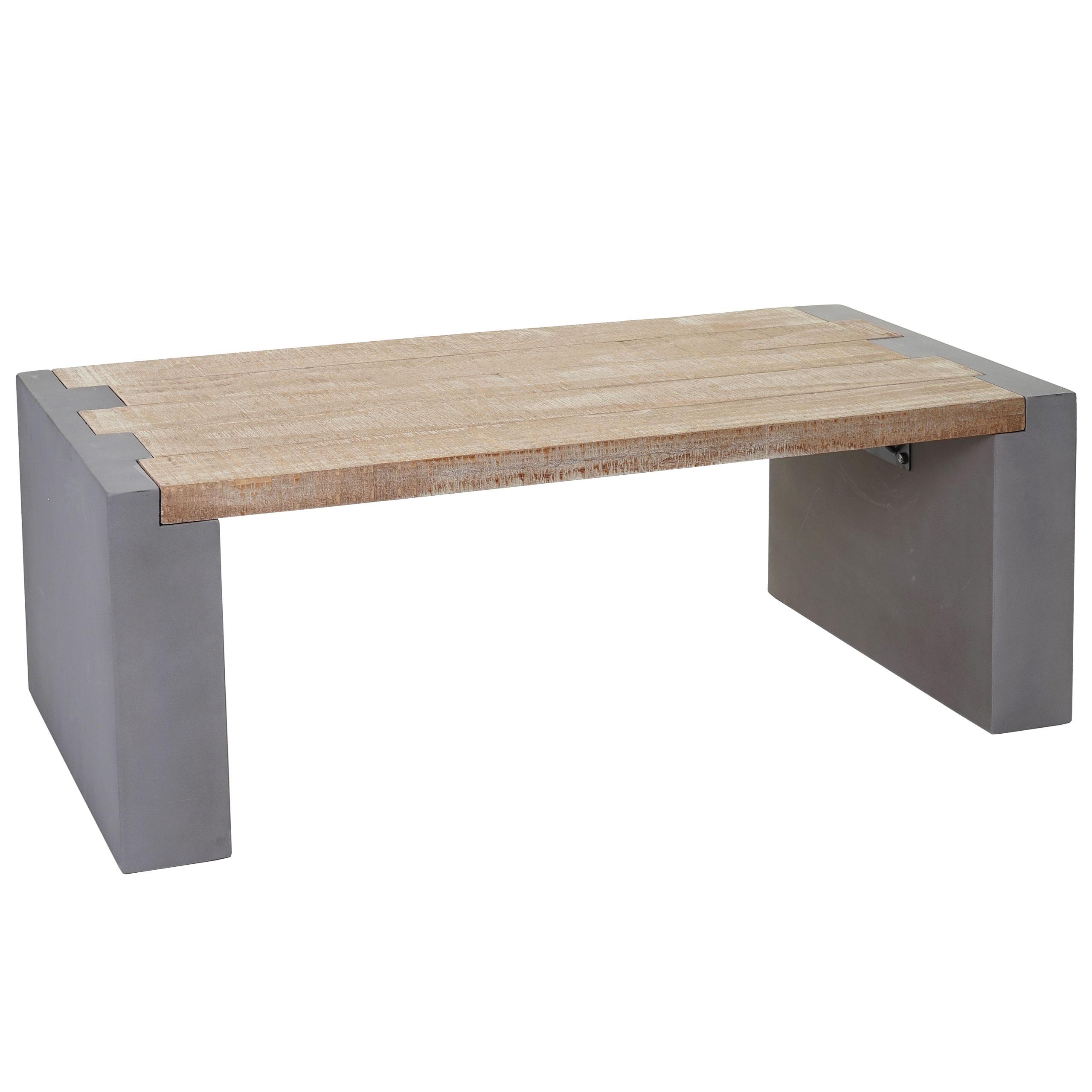 Couchtisch Hwc A15 Wohnzimmertisch Beton Optik Tanne Holz Rustikal