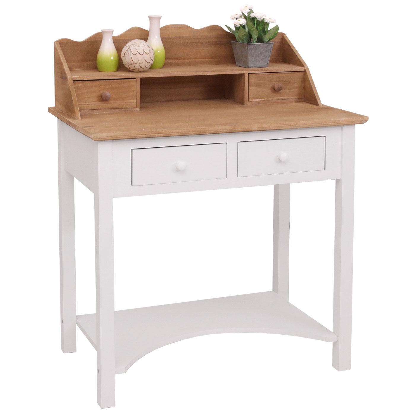 Wunderbar Schreibtisch Kommode Das Beste Von Sekretär Hwc-b96, Arbeitstisch Kommode, 102x77x48cm 1