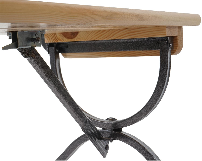 2x bank linz mit lehne f r biertischgarnitur. Black Bedroom Furniture Sets. Home Design Ideas