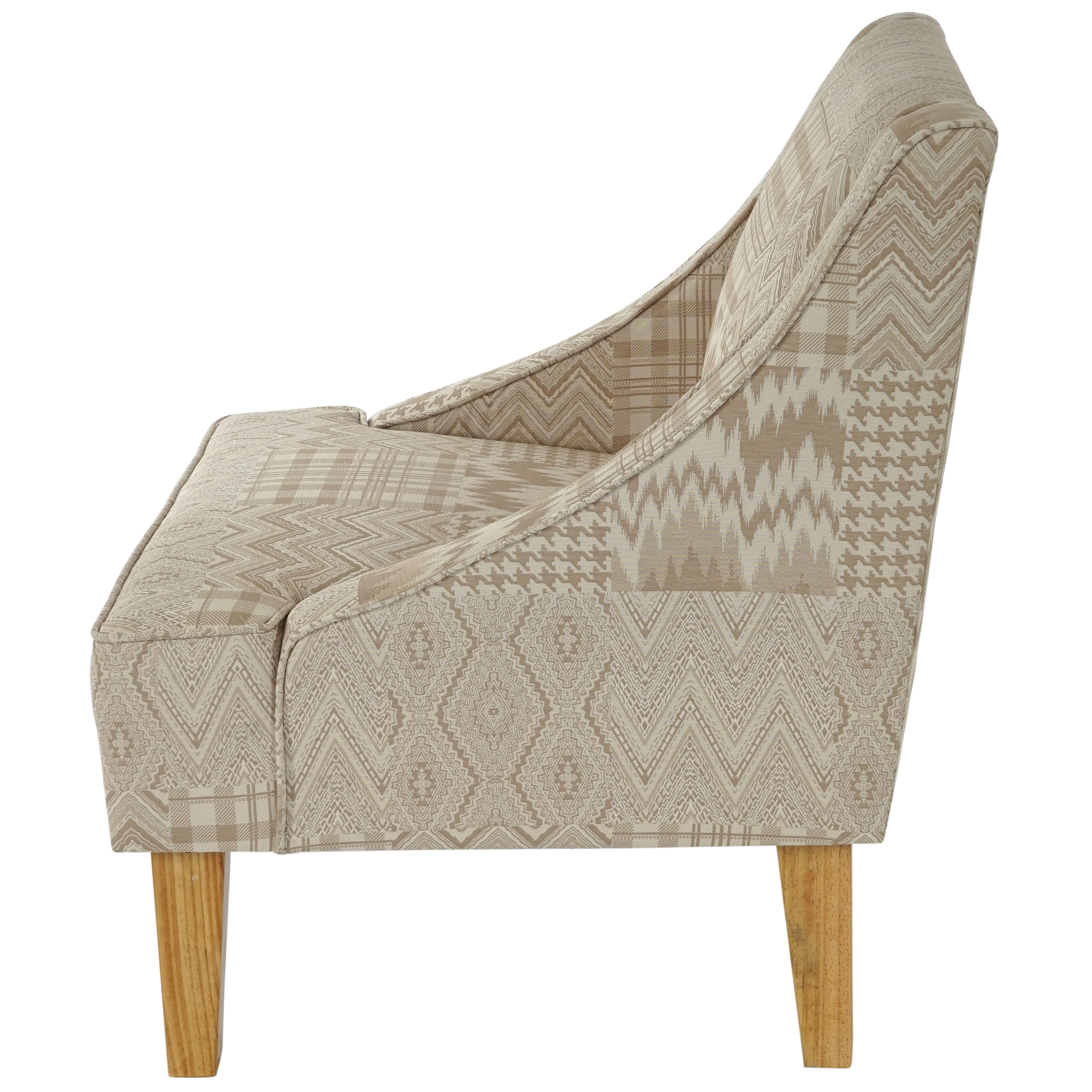 Sessel Malmö T371 Retro 50er Jahre Design Stoff Textil