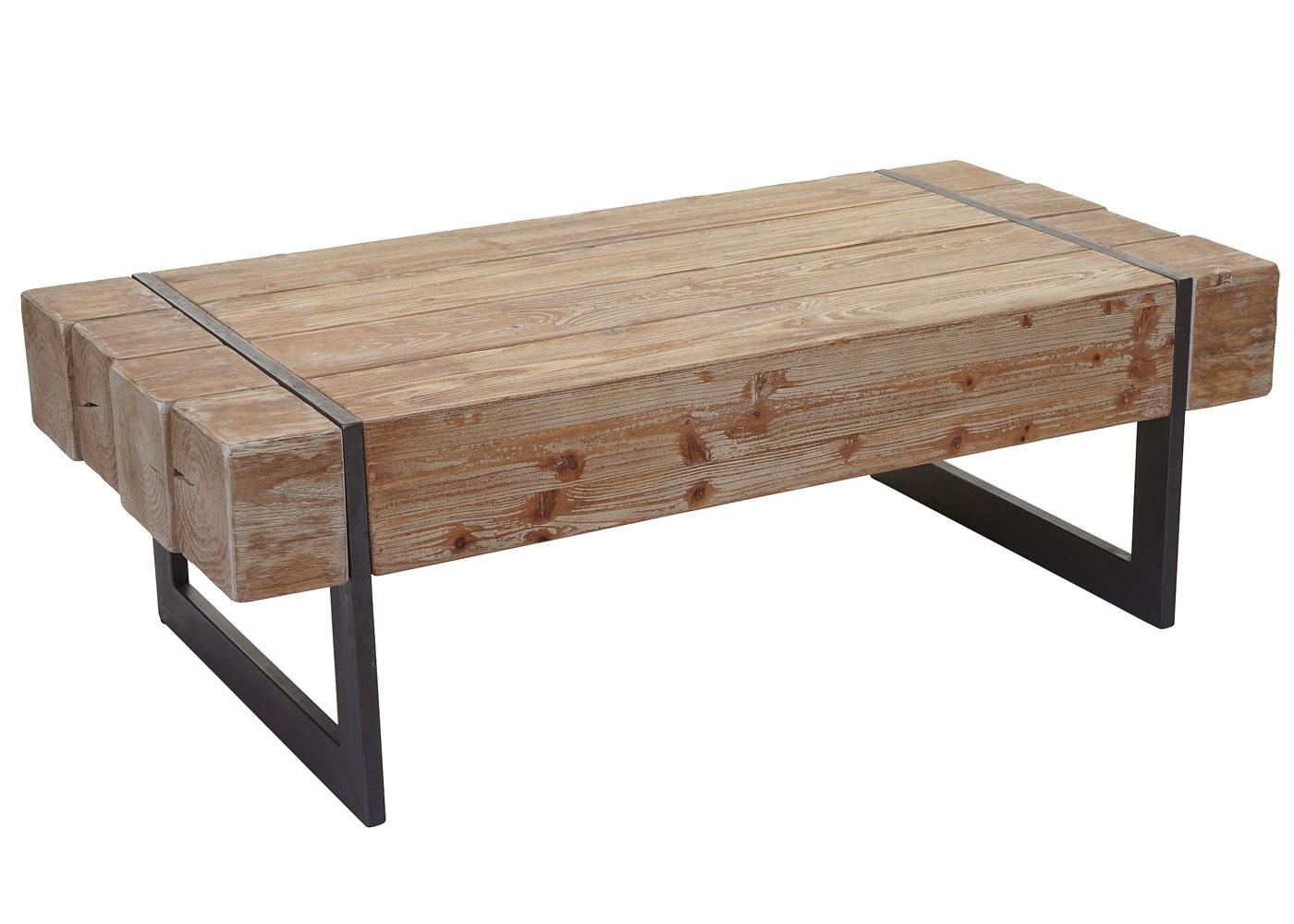 Einzigartig Couchtisch Holz Rustikal Sammlung Von Hwc-a15a, Wohnzimmertisch, Tanne Massiv 40x120x60cm 1