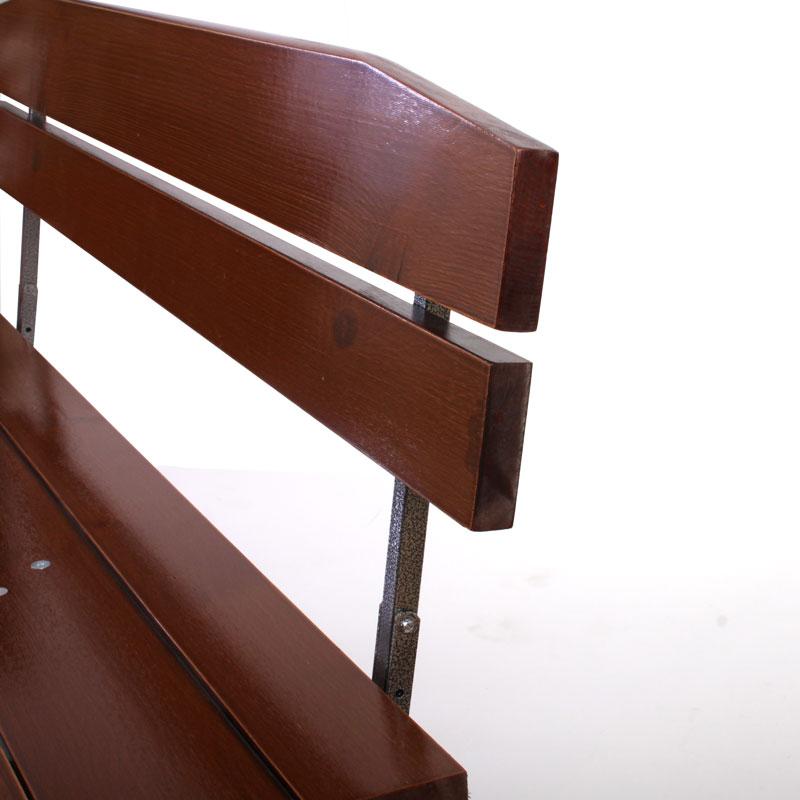 2x bank mit lehne f r biertischgarnitur linz kaufen bei mendler vertriebs gmbh. Black Bedroom Furniture Sets. Home Design Ideas