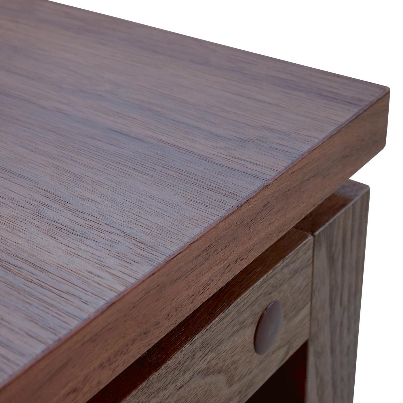Lowboard Walnuss tv rack baar fernsehtisch lowboard mit schubladen 39x105x49cm