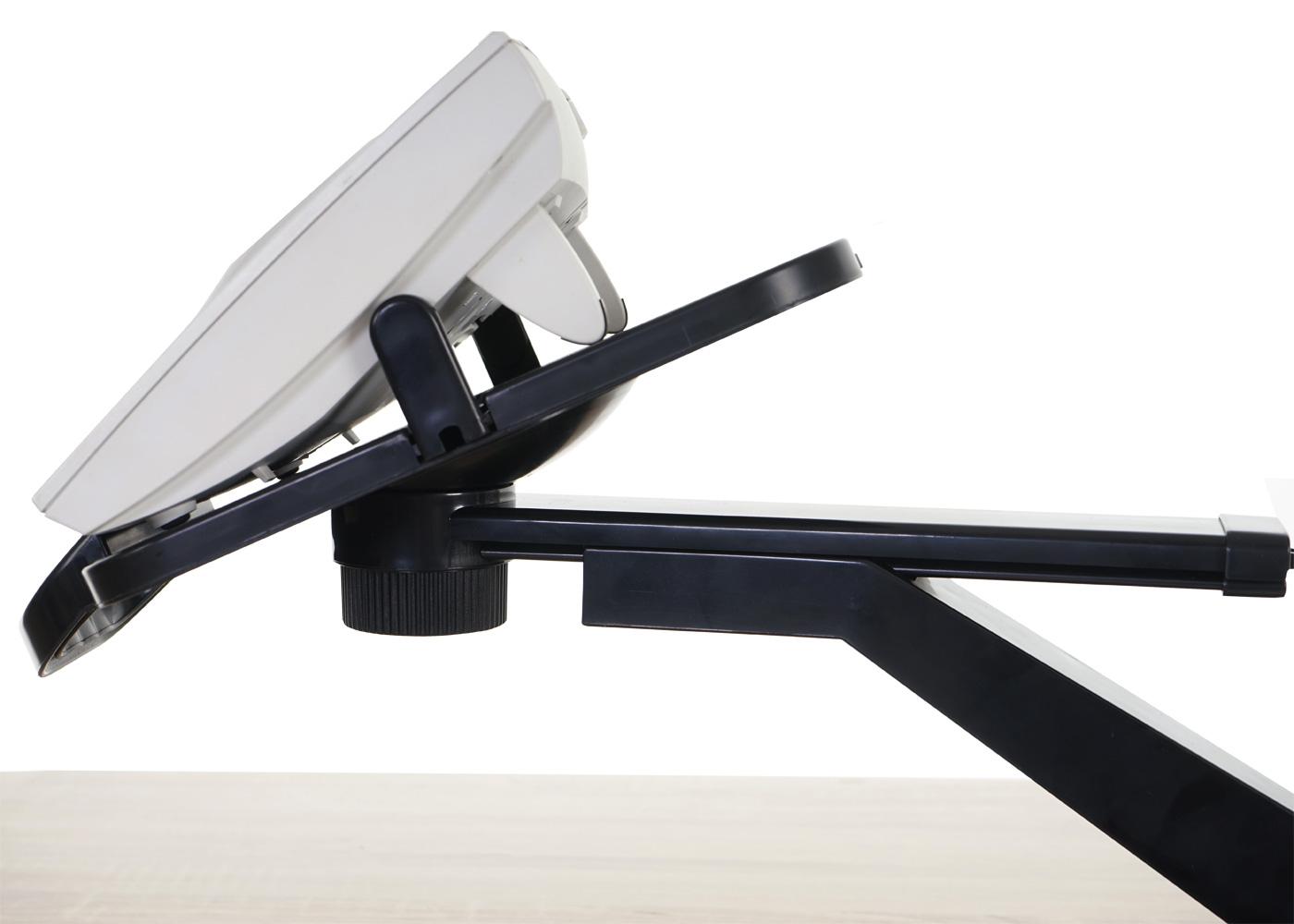 telefonarm t555 telefonhalter tischhalterung schwarz kaufen bei mendler vertriebs gmbh. Black Bedroom Furniture Sets. Home Design Ideas