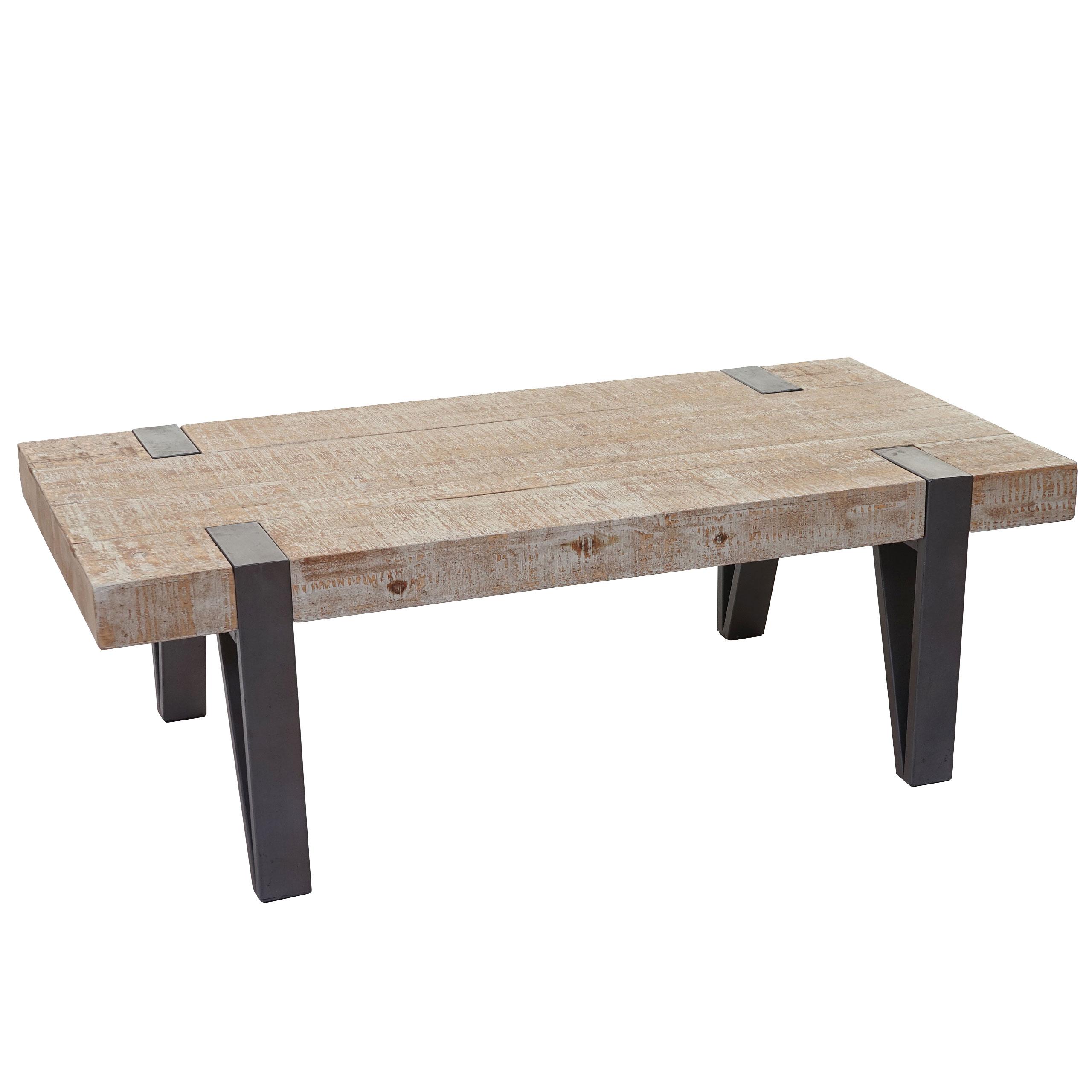 Couchtisch Hwc A15b Wohnzimmertisch Tanne Holz Rustikal Massiv