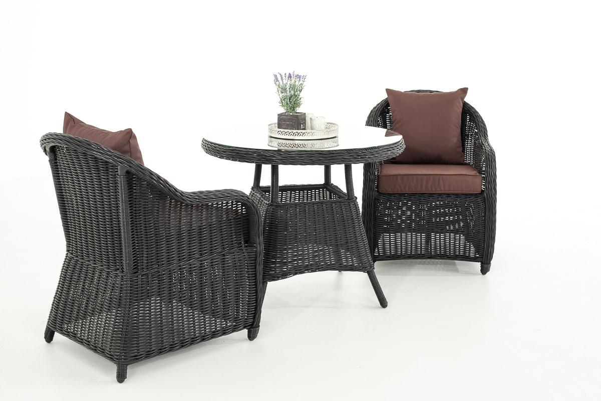 Garten Garnitur Cp063 Sitzgruppe Lounge Garnitur Poly Rattan