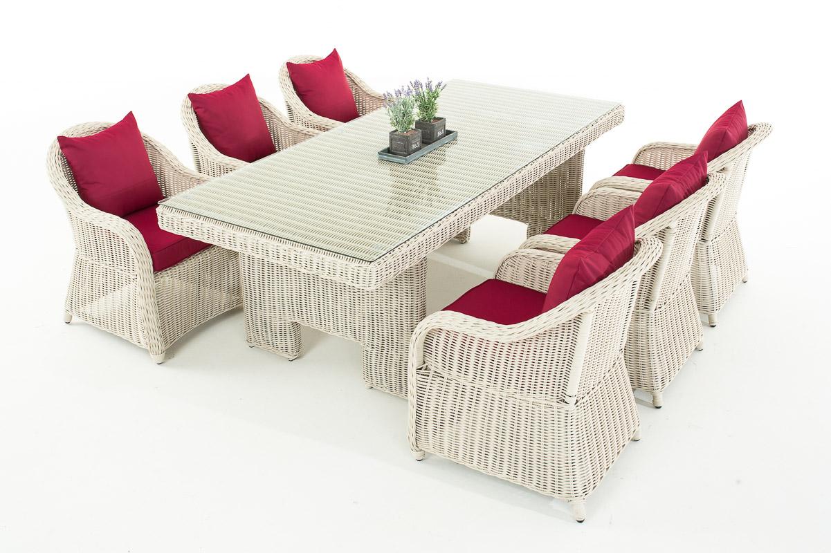 Garten Garnitur Cp065 Sitzgruppe Lounge Garnitur Poly Rattan