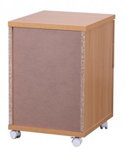 Rollcontainer A092, Rollschrank Bürocontainer, 60x48x40cm - Vorschau 4