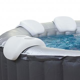Comfort-Set für Whirlpool MSpa M-021LS M-009LS/019LS HWC-A62, Nackenstütze Getränkehalter, Zubehör - Vorschau 1