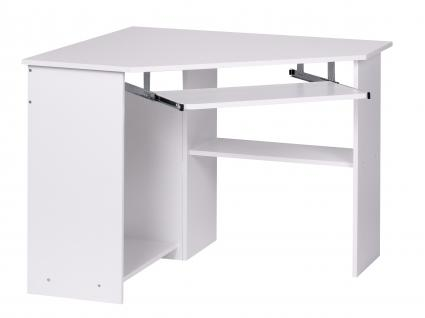 Eck-Computertisch A077, Schreibtisch Bürotisch, 103x97x73cm