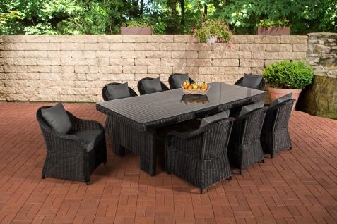 Garten-Garnitur CP065 XL, Sitzgruppe Lounge-Garnitur, Poly-Rattan - Vorschau 5