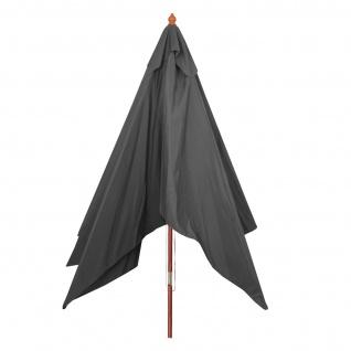 Sonnenschirm Florida, Gartenschirm Marktschirm, 3x4m Polyester/Holz 6kg - Vorschau 5
