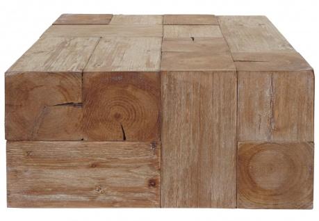 Couchtisch HWC-A15c, Wohnzimmertisch, Tanne Holz rustikal massiv 30x60x60cm - Vorschau 3