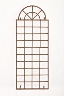 Wandrankhilfe CP371, Rankhilfe Rankgitter, Eisen ~ 180cm, antik-braun